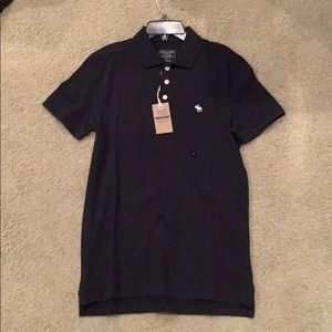 Abercrombie & Fitch Navy Polo